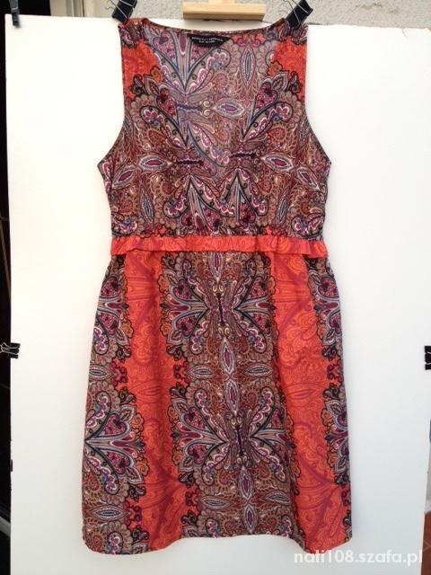 Kolorowa sukienka na lato Dorothy Perkins r 38