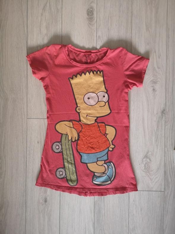 Koszulka Bershka S M Simpson