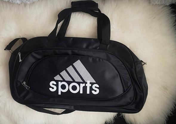 Duża torba sportowa podróżna czarna nowa