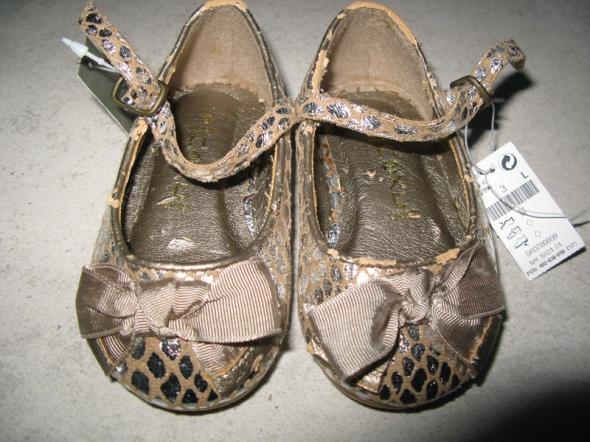 NEXT srebrne buciki baletki dla dziewczynki roz 21