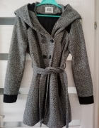 Płaszcz Vero Moda mohito reserved M szary zima...