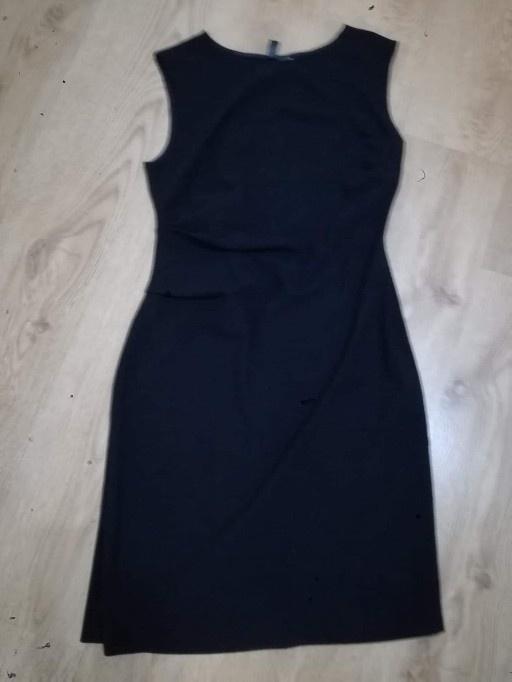 7a0c58441a Czarna sukienka midi w Suknie i sukienki - Szafa.pl