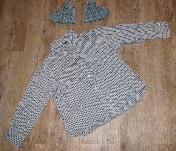 Koszula chłopiec kratka H&M rozm 116