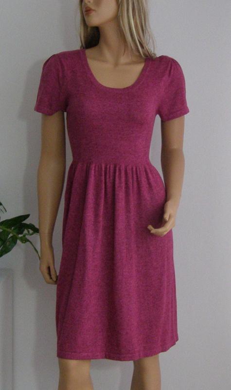 sukienka TU L XL sweterkowa ciepła święta