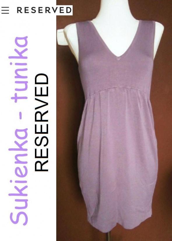 Sukienka RESERVED fiolet XS S M