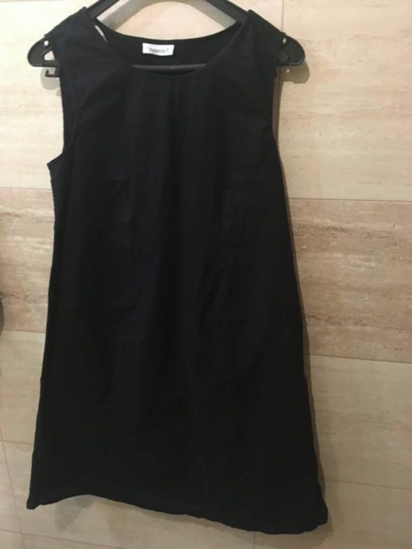 Czarna sukienka L...