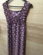sukienka w kwiaty m L 38 40...