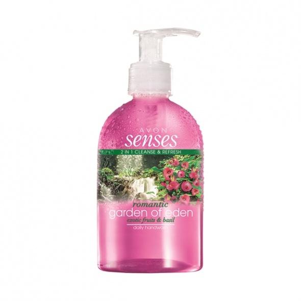Pielęgnujące mydło w płynie Garden of Eden Avon