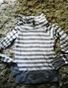 sportowa bluza w paski...