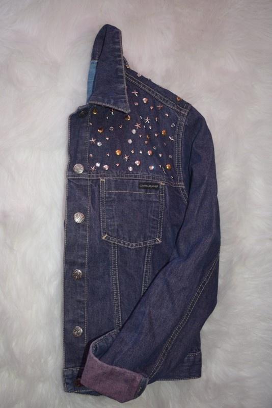 kurtka bluza jeansowa katana