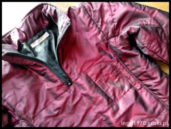 Ciepła bluza kurtka z tafty 140 cm JAK NOWA