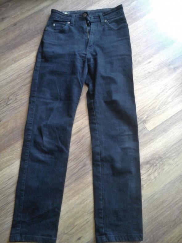 Czarne jeansy LEE rozmiar 28 29 TANIO...