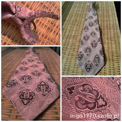Piękny krawat bez wiązania TANIO