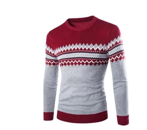 nowy męski sweter M L...