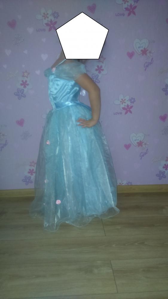 sukienka balowa księzniczka kopciuszek...