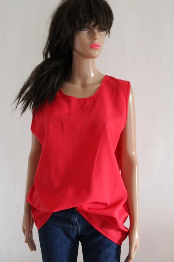 Czerwona bluza bez rękawów r 44...