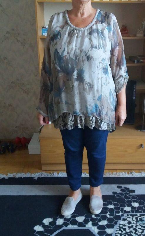 Bluzka plus size XL...