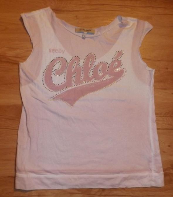 Koszulki Koszulka t shirt See by Chloe