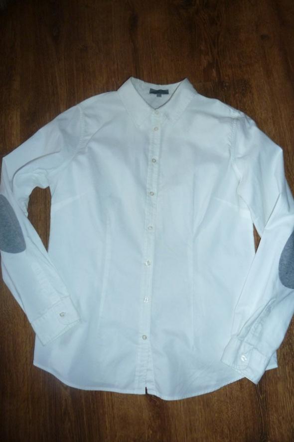 koszula biała łaty s