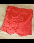 Czerwony gorset bluzka AMISU S...
