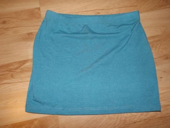 Spódnice Turkusowa mini spódniczka M