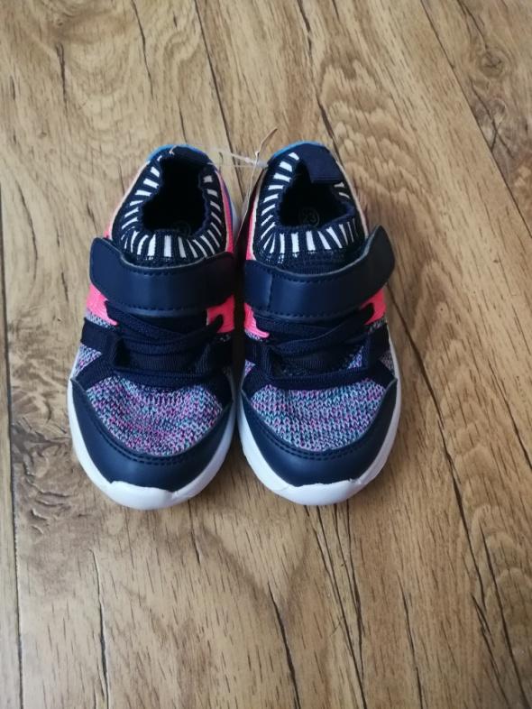 Buty dziecięce dziewczęce adidasy 23 NOWE z metką
