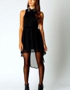asymetryczna sukienka ćwieki...