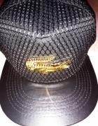 Czapka z daszkiem LACOSTE czarna FULL CAP...