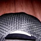 Czapka z daszkiem LACOSTE czarna FULL CAP