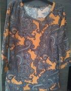 dzianinowa bluzka...
