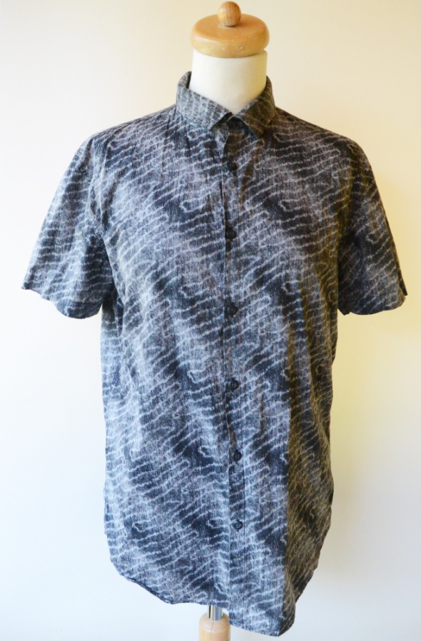 Koszula Męska Wzory M 38 Calvin Klein Slim Fit...