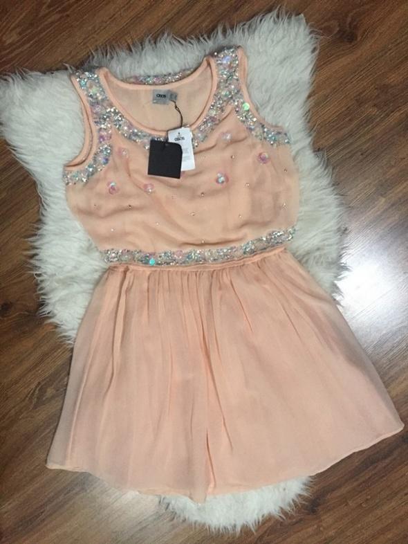 Nowa sukienka rozkloszowana kryształki Asos L...