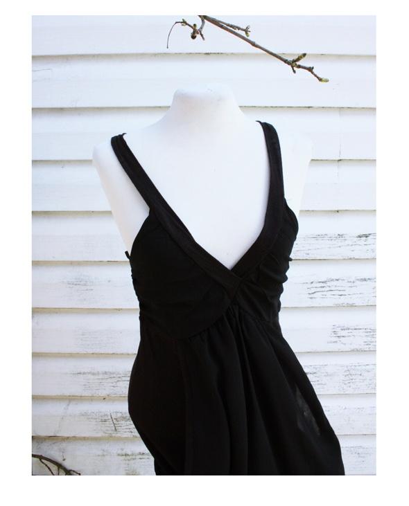 Suknie i sukienki Czarna sukienka Only
