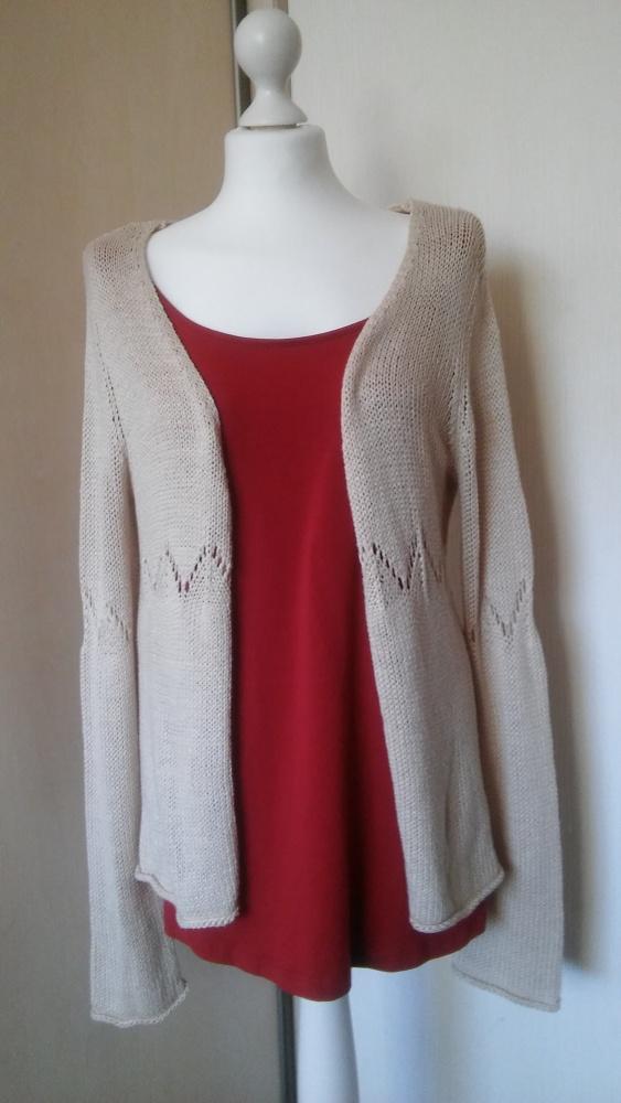 Sweter zapinany...