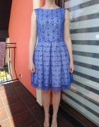 Sukienka koronkowa XS