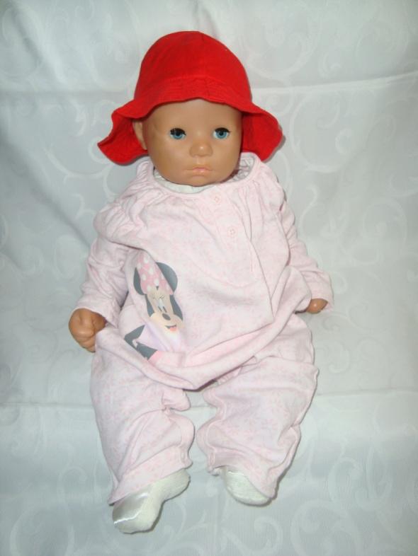 Disney pajac bez stóp roz 3 6 msc 62 68 cm