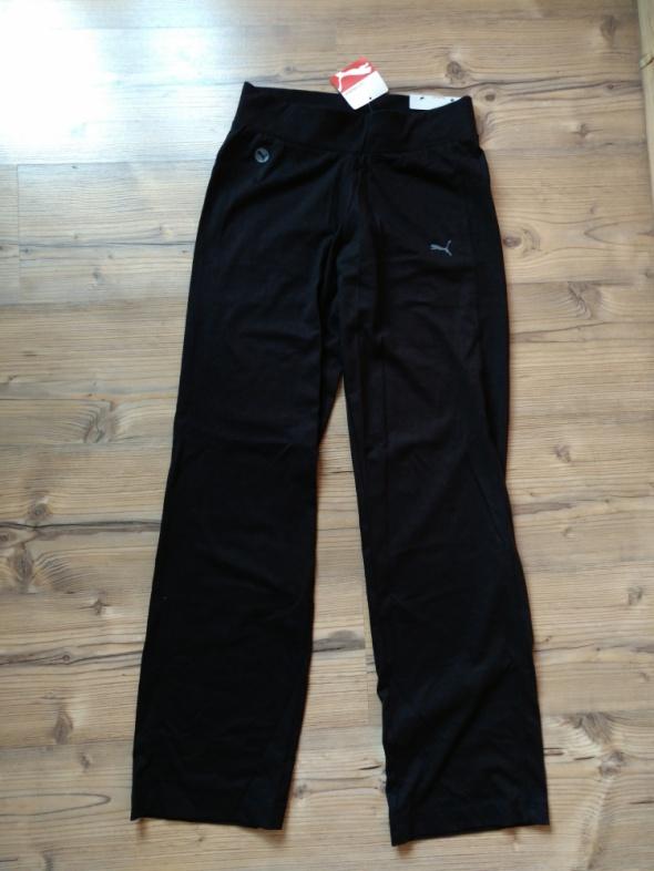 Spodnie Puma slim fit nowa bawełniane sportowe spodnie M