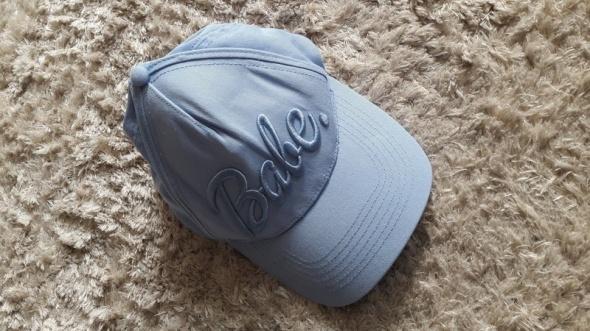 Nakrycia głowy Czapka z daszkiembaby blue Cropp