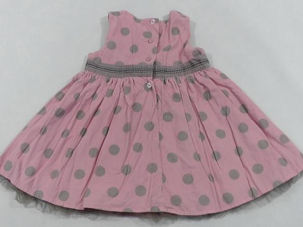 Next sukienka dziewczeca sztruksowa 18 mcy 86 cm