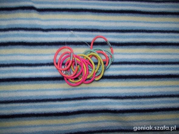 Nowe neonkowe gumeczki 16szt