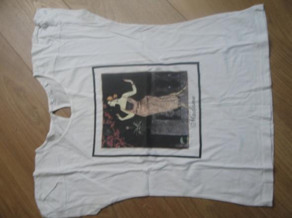 Bluzki Biała bluzeczka Madame