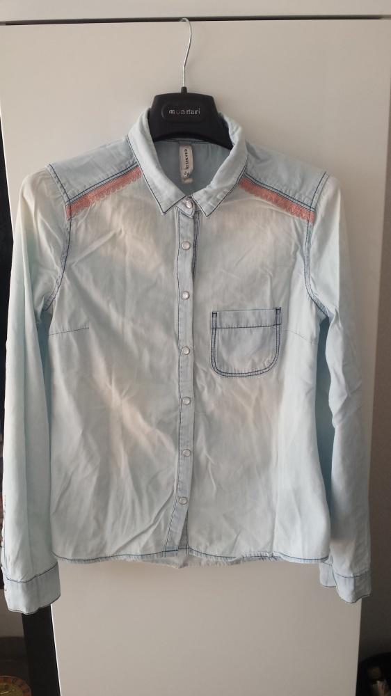 Koszule KOSZULA JASNY JEANS RESERVED R 34