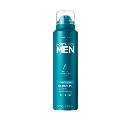 Dezodorant Nowy North For Men Original Oriflame