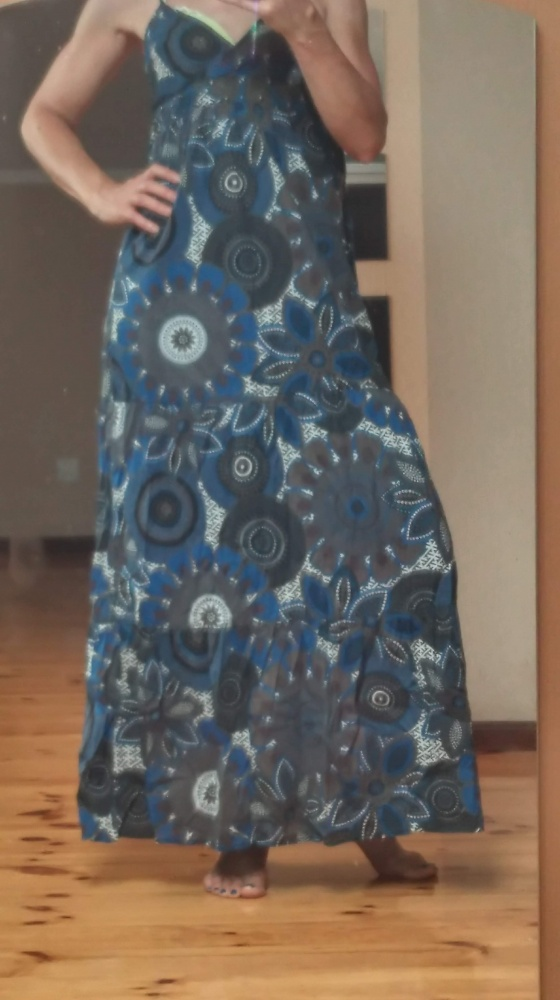 Suknie i sukienki Sukienka letknia ramiączka