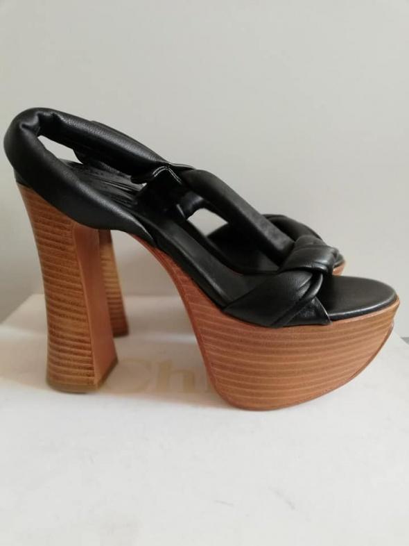 Sandały CHLOE Oryginalne sandały na platformie 38 NOWE