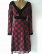 FF sukienka w kratke 34 XS...