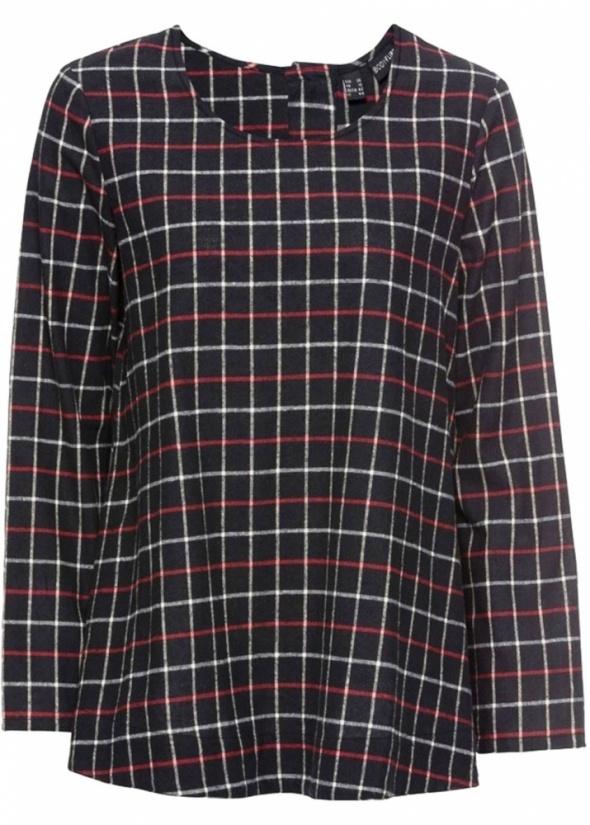 Flanelowa bluzka w kratkę rozmiar 44...