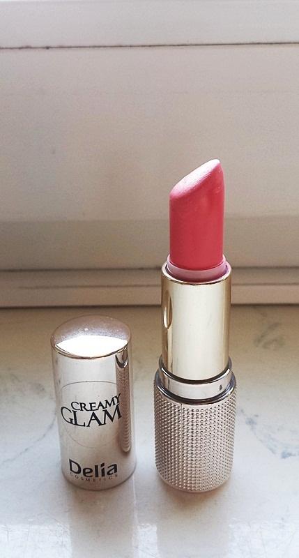 Nowa szminka pomadka Delia Creamy Glam róż...