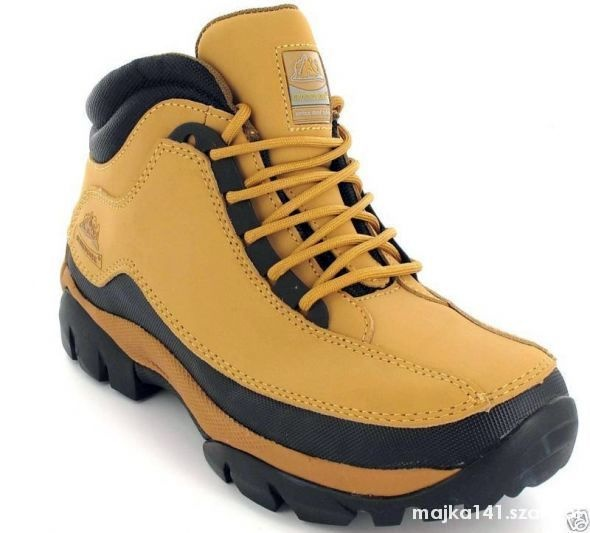 SAFETY NOWE BOOTS LEATHER STEELTOE TREKKING 37