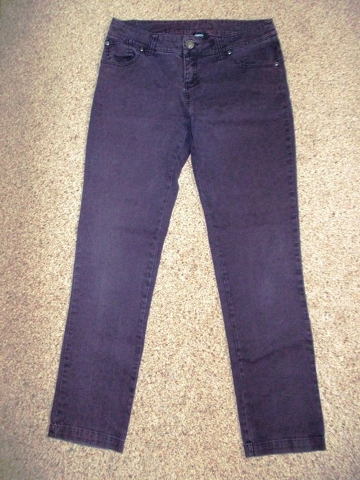Spodnie jeansowe panterka Papaya 38...